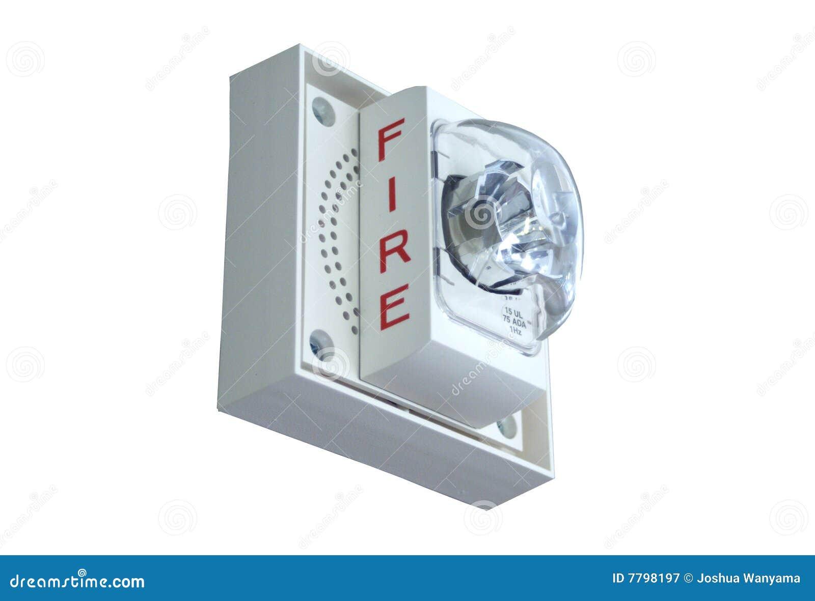 Fire Alarm Light...Fire Siren Clipart