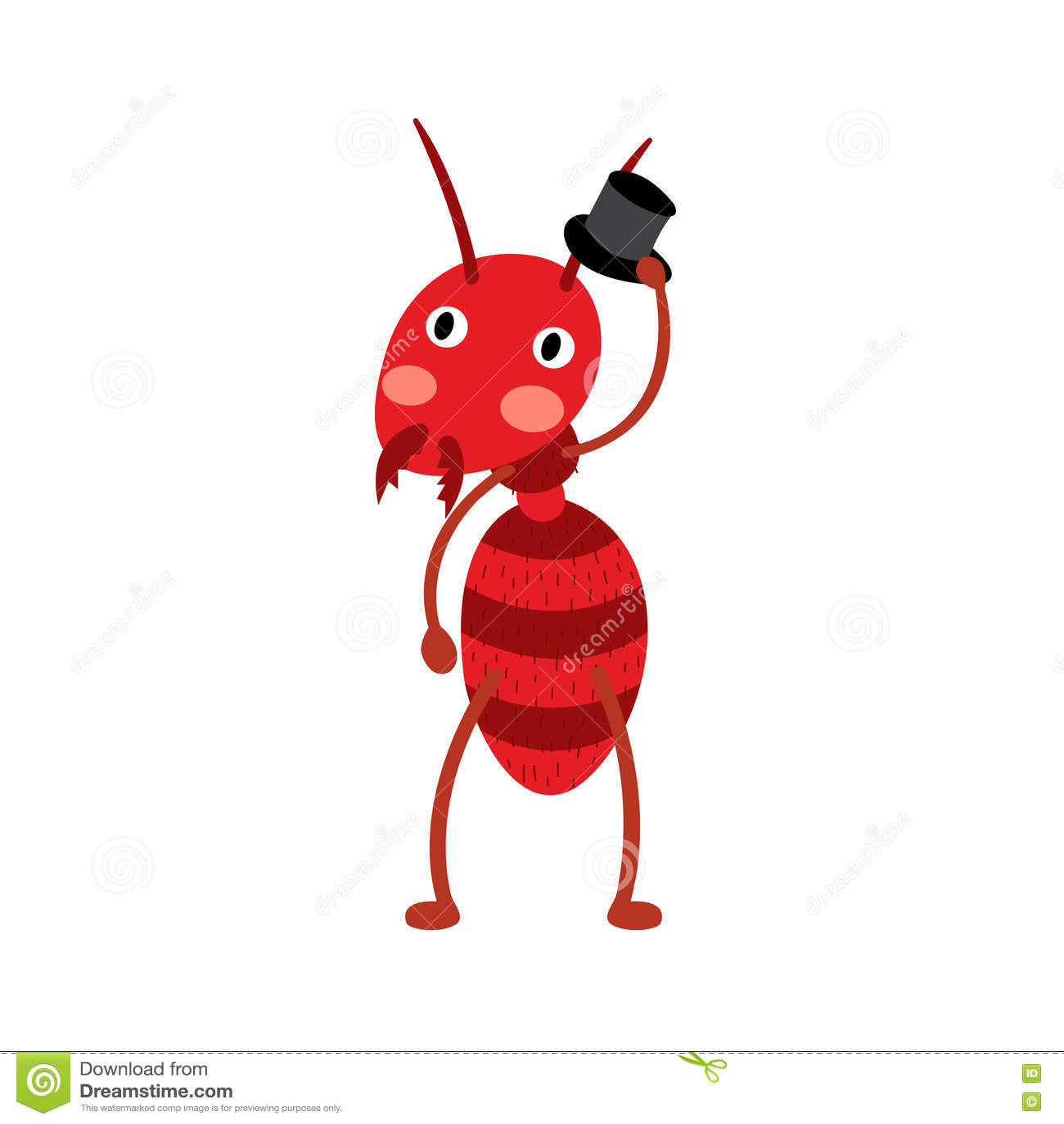 Cartoon black ants - photo#35
