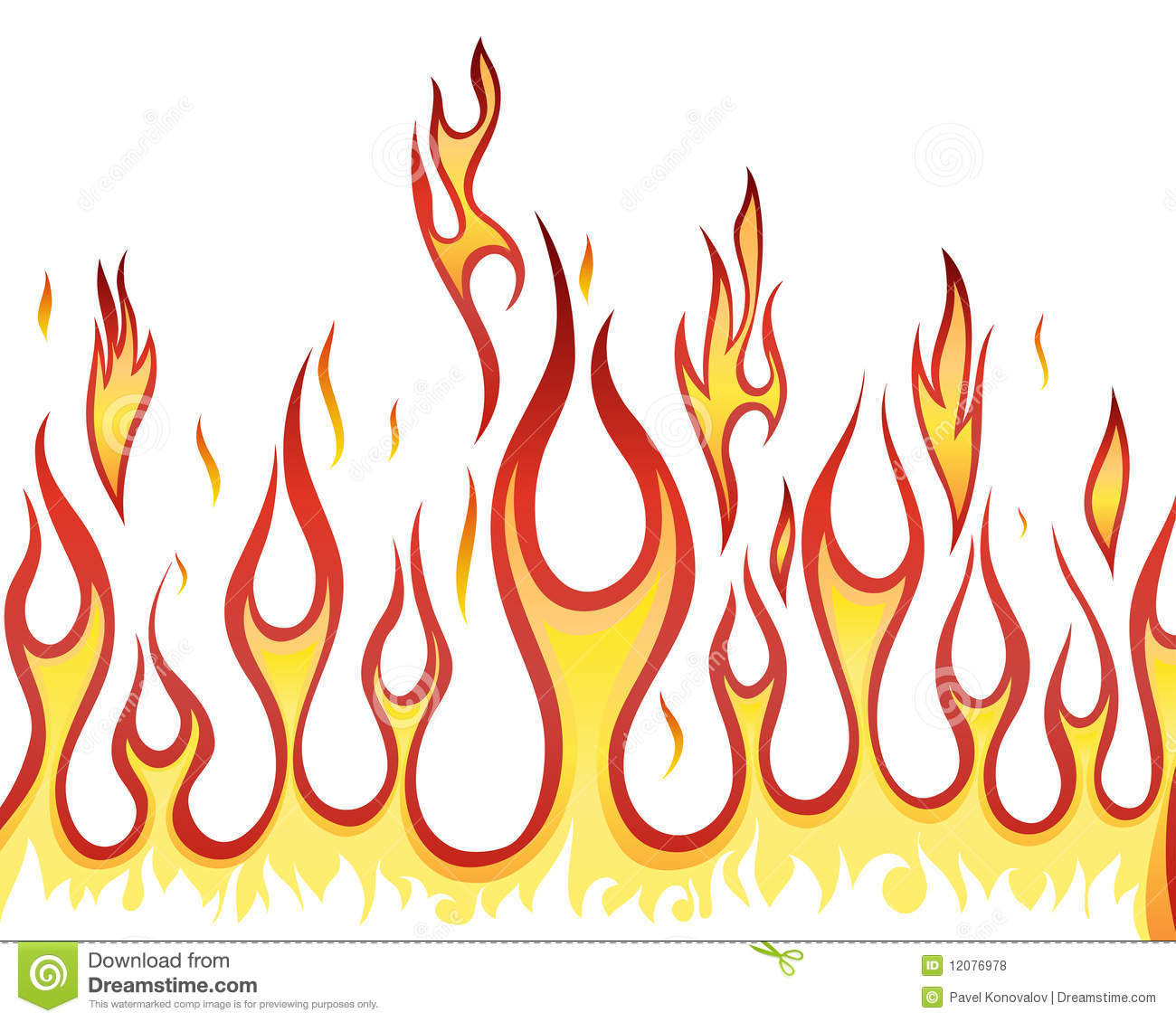 Fire Background Royalty Free Stock Photos - Image: 12076978