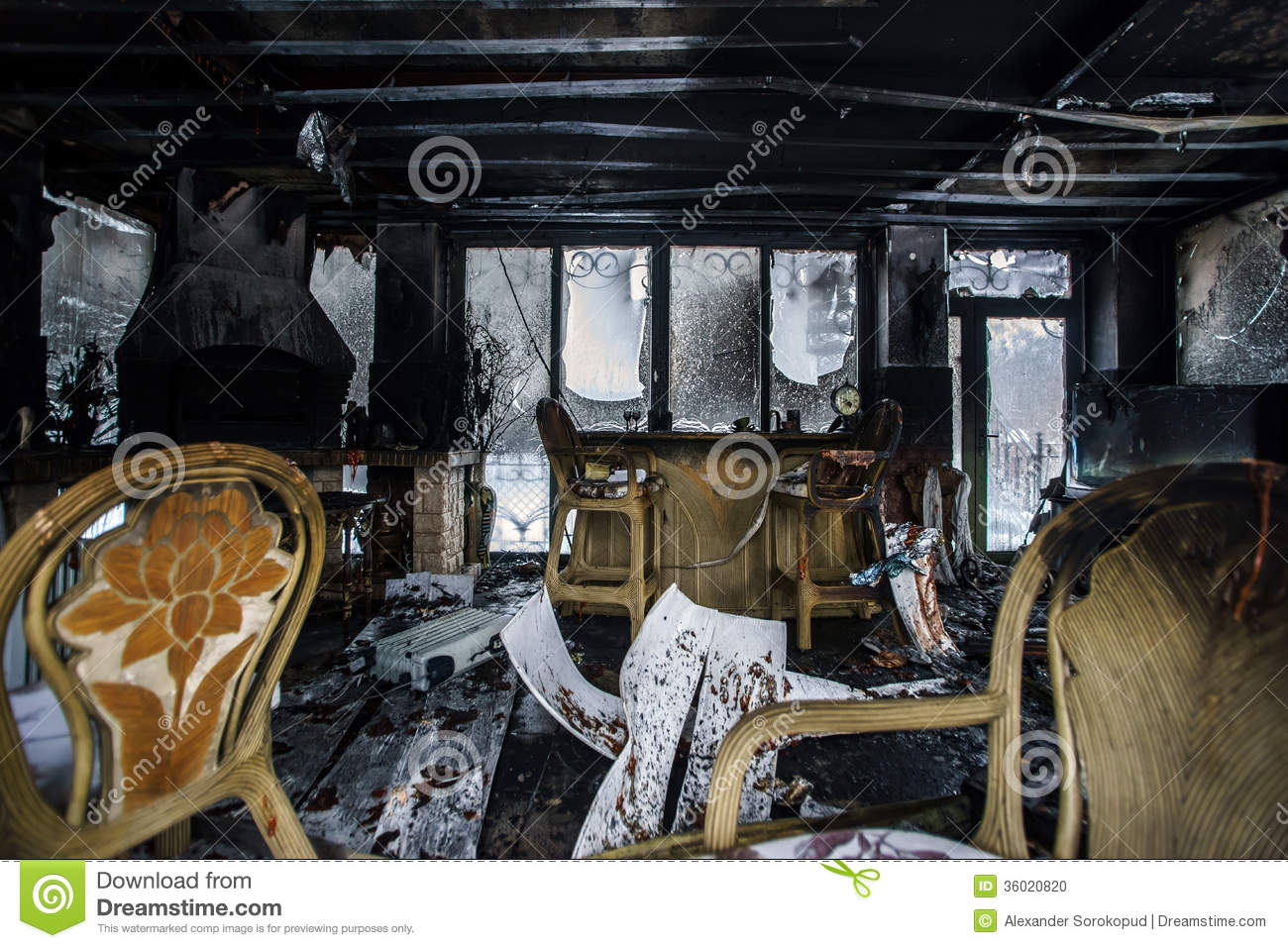 Insurance For Building Damaged By Fire