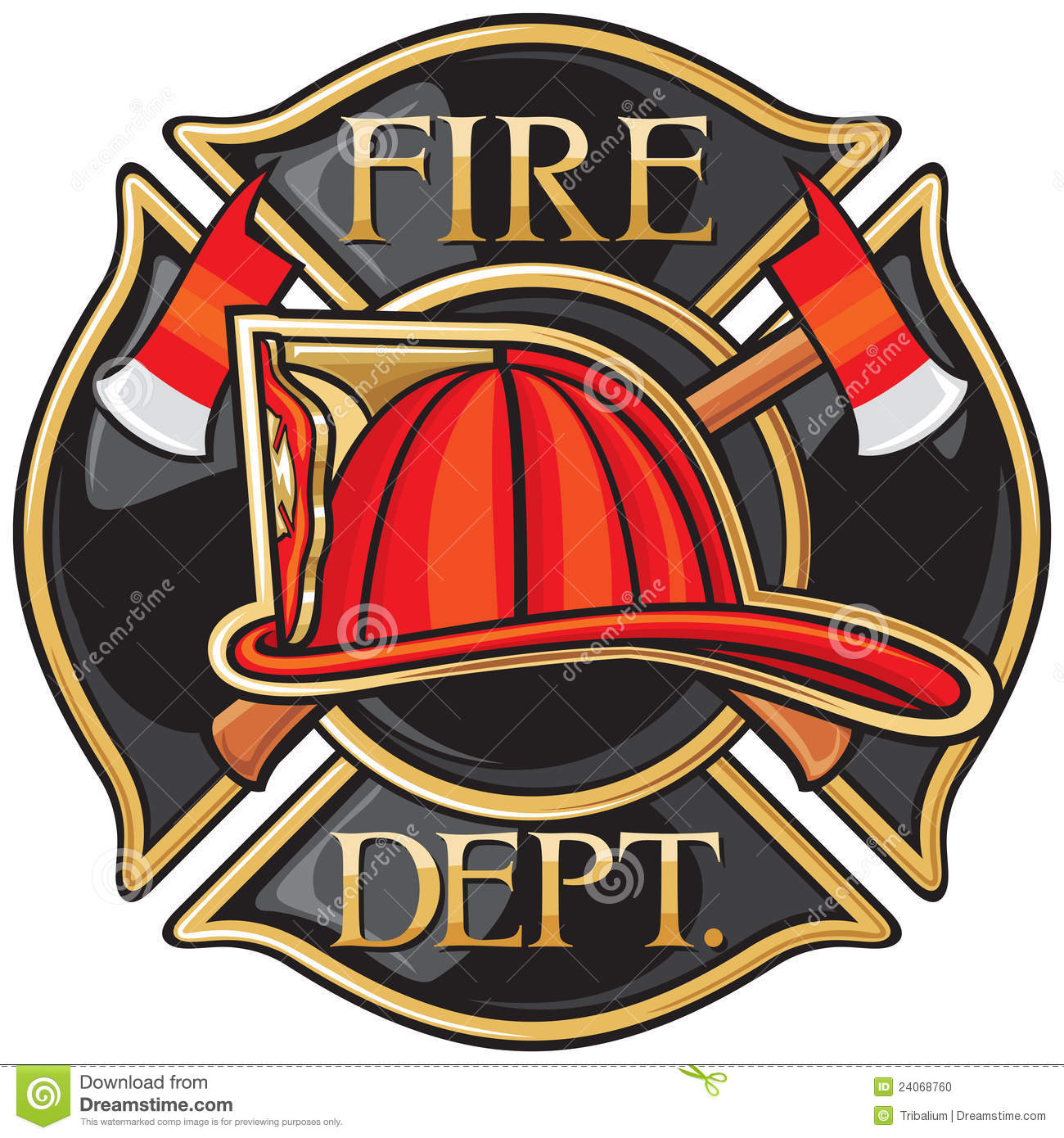 Fire Department Stock Vector Illustration Of Lift Department