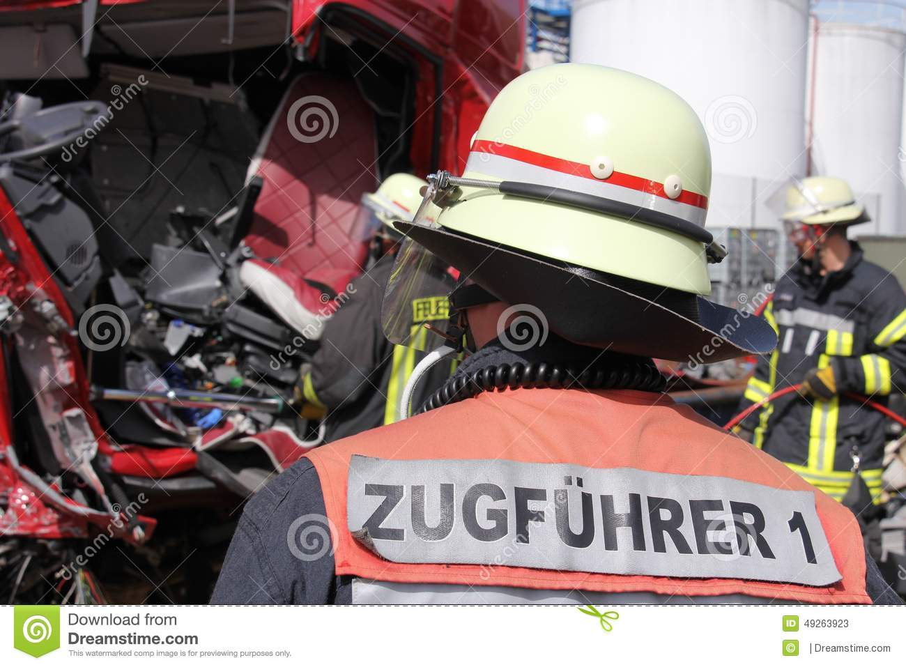 Fire department head of operations