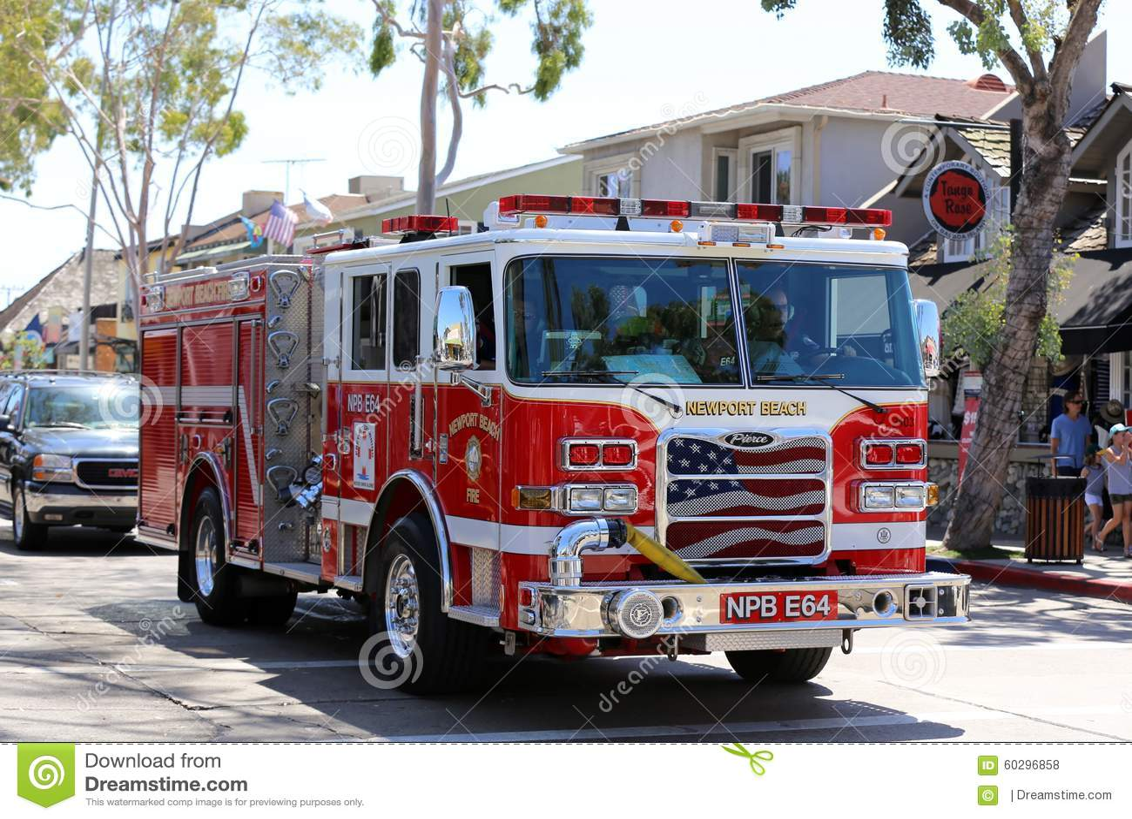 Fire department in Newport Beach