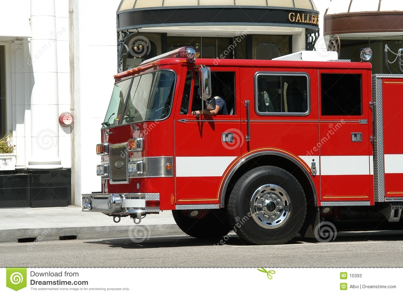 Fire department truck