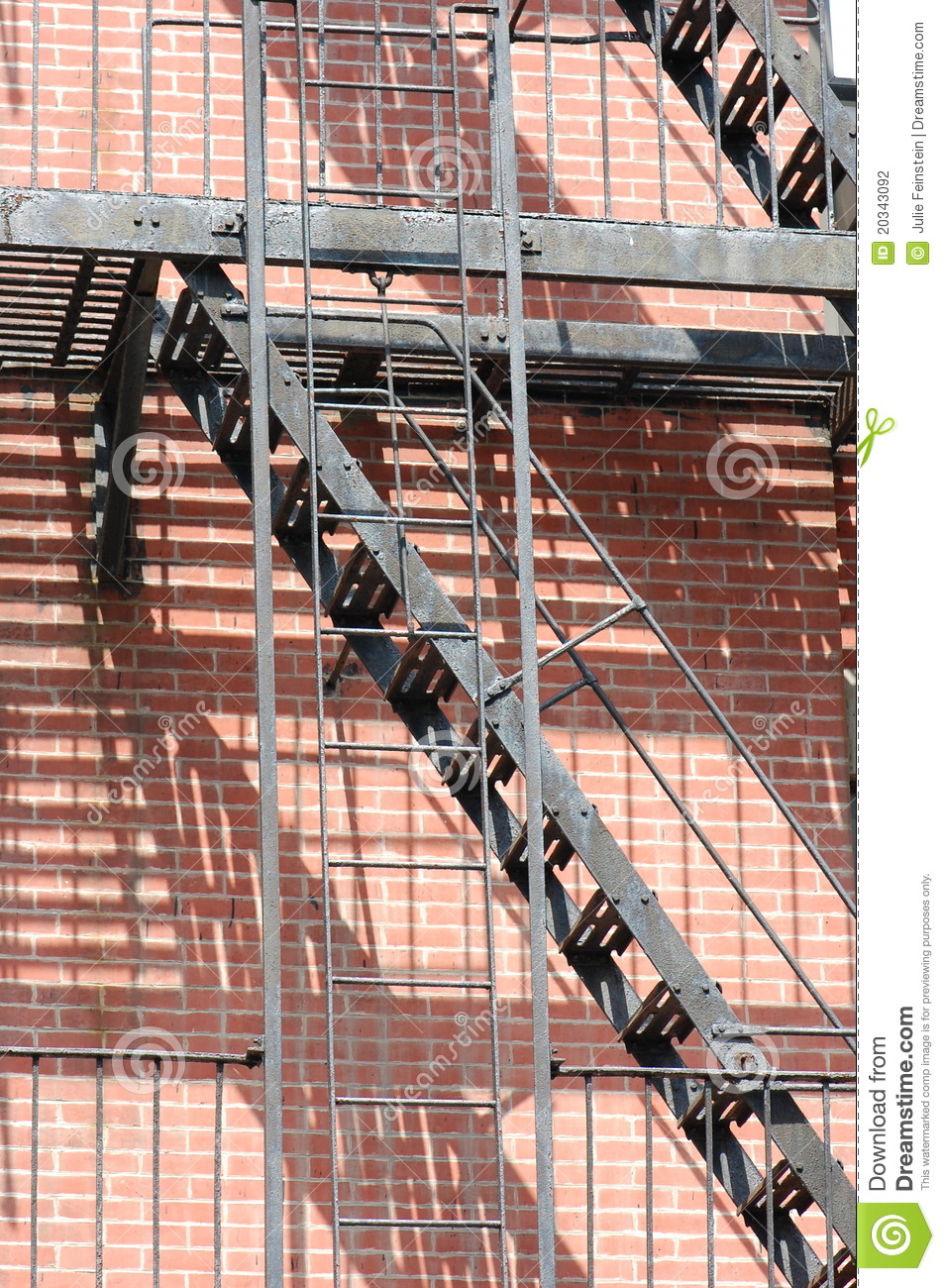 Fire Escape Stock Photography Image 20343092