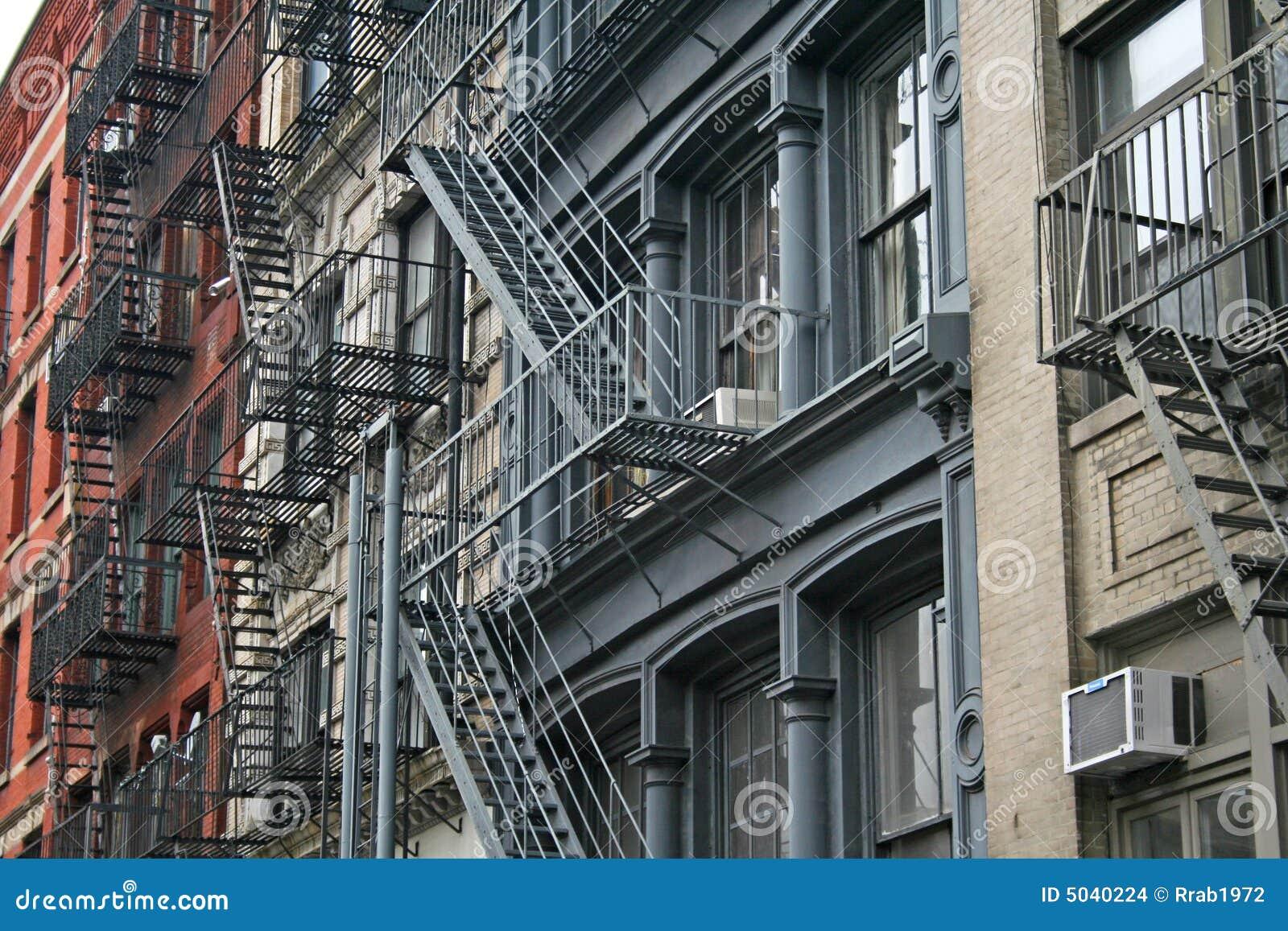 Fire escape New York