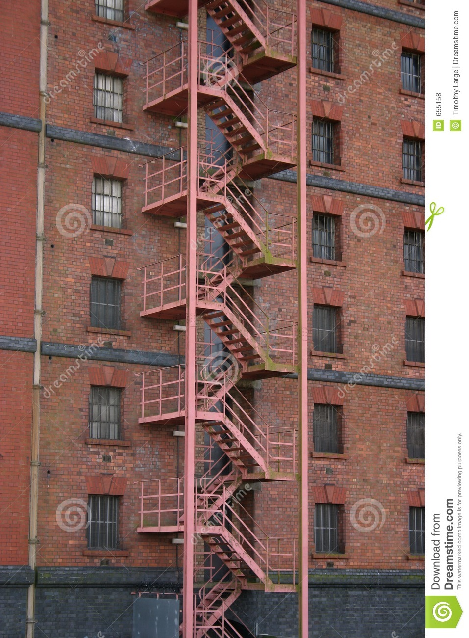 Nice Royalty Free Stock Photo. Download Fire Escape Stair ...