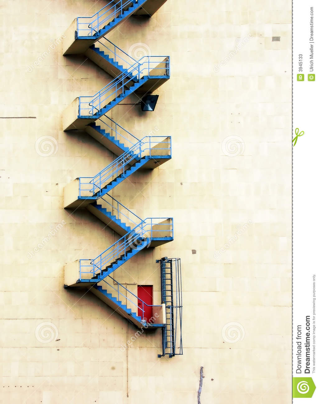 Royalty Free Stock Photo. Download Fire Escape Staircase ...