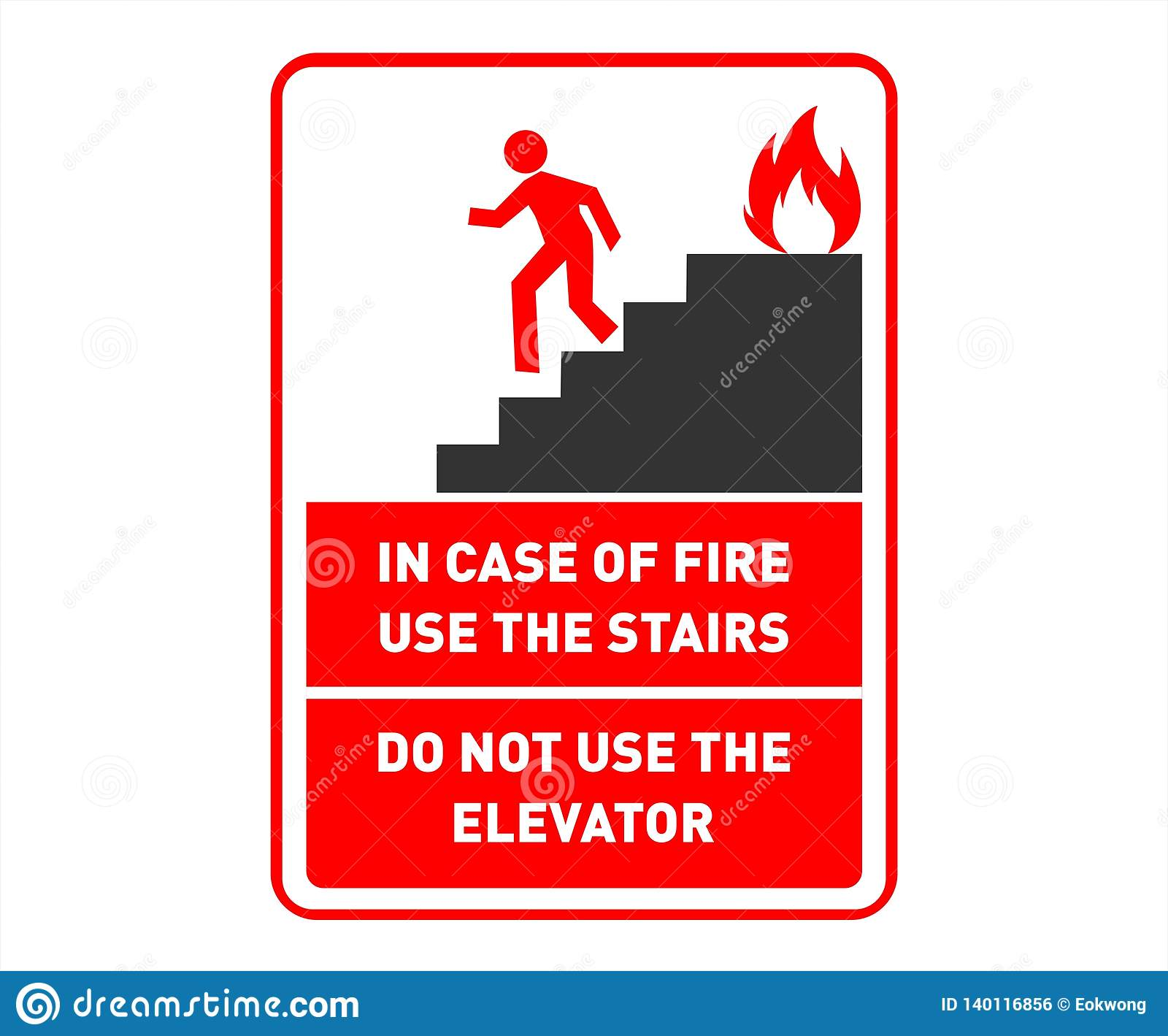 Emergency Exit Safety Poster