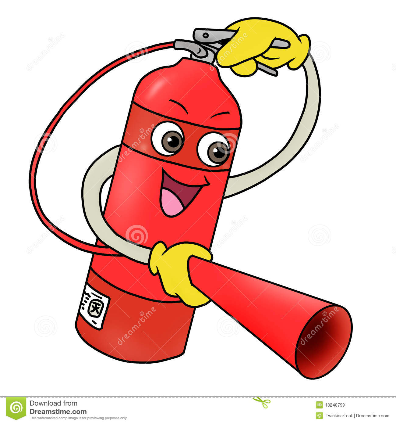 Fire Extinguisher Icon Royalty Free Stock Images - Image: 18248799