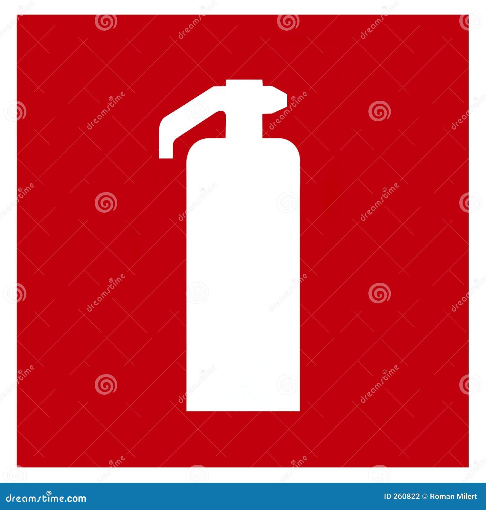 Fire Extinguisher Symbol Stock Photography - Image: 260822