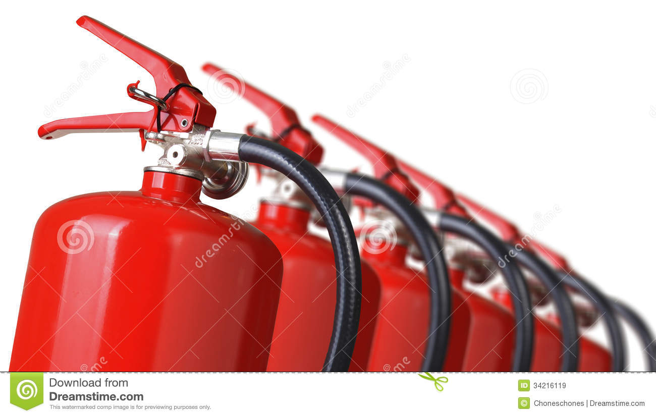 Fire Extinguishers Royalty Free Stock Images - Image: 34216119