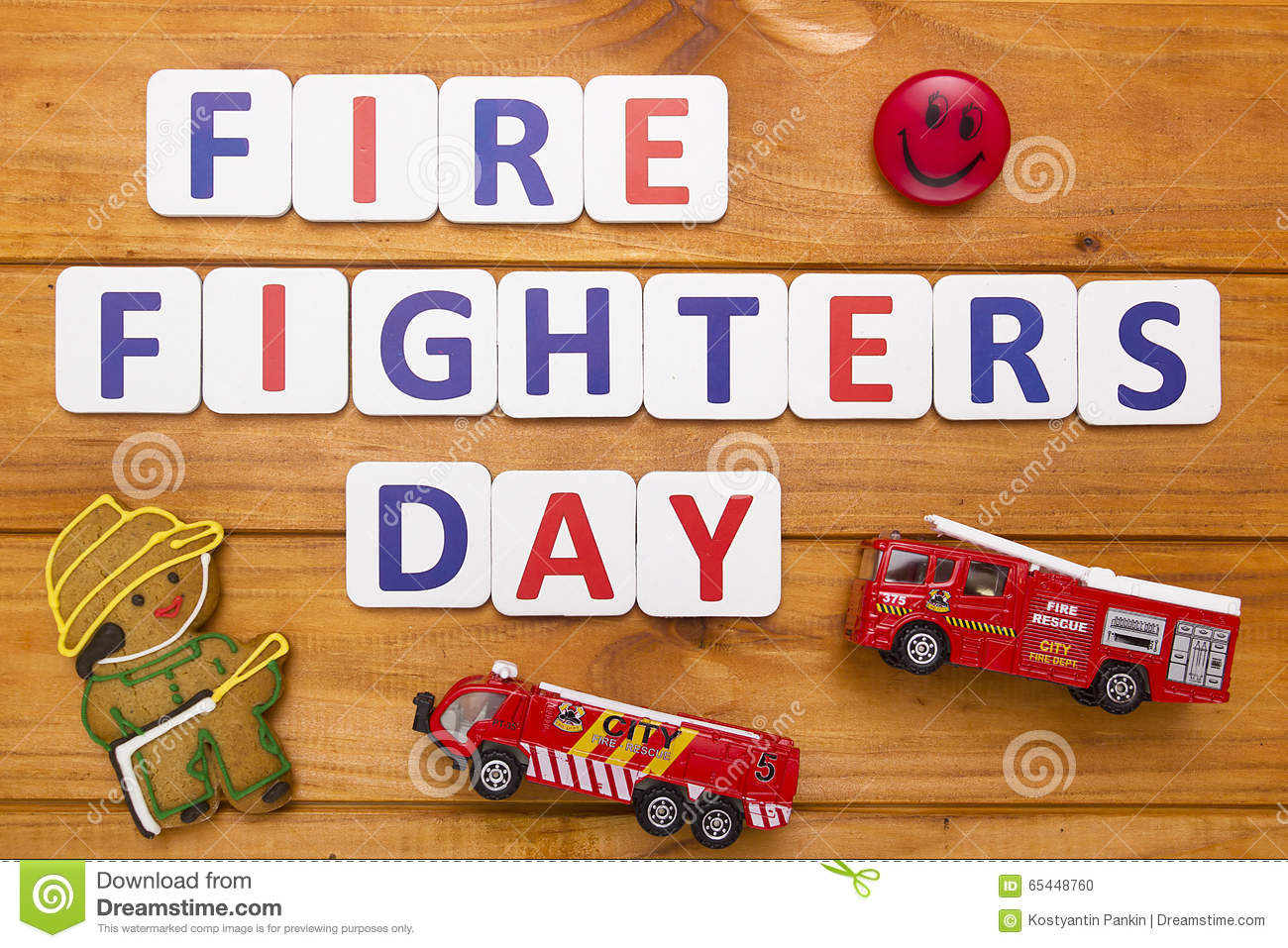 f288467a2ab49 Fire fighters day stock illustration. Illustration of sign - 65448760