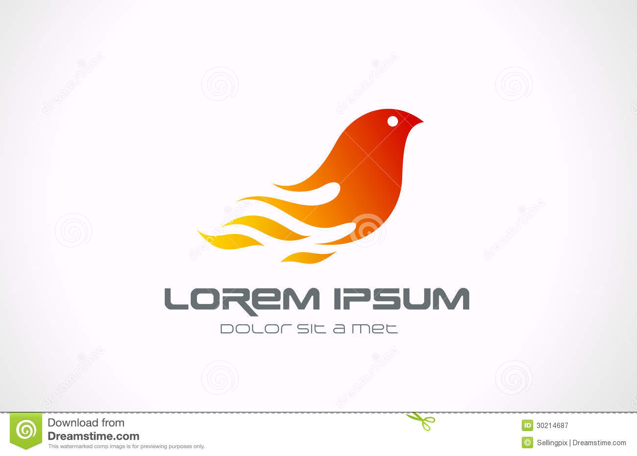 ... Icon. Phoenix Concep Royalty Free Stock Photography - Image: 30214687