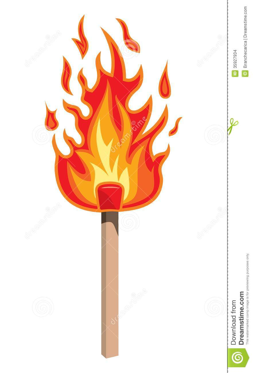 Flame Vector Clipart Fire flame