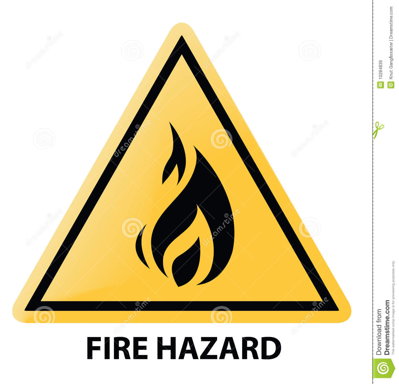 fire hazard royalty free stock images image 10284839