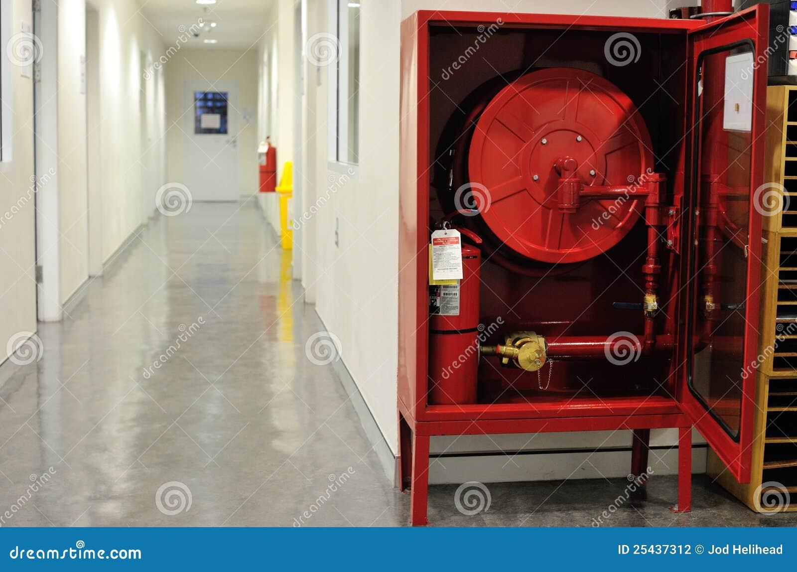 Fire Hose Cabinet Stock Photo Image Of Emergency Hose