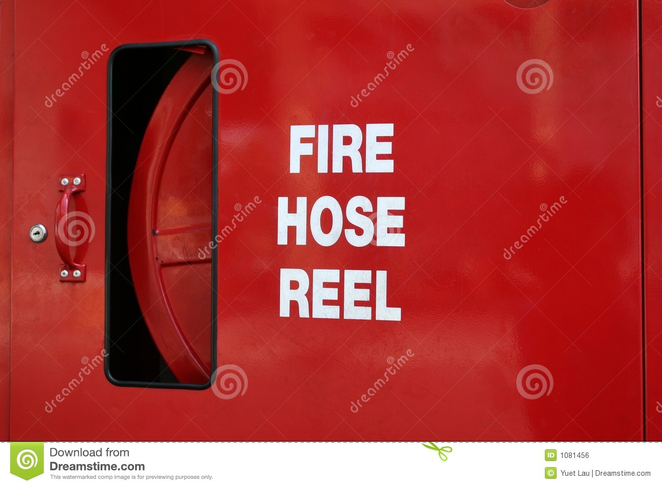 Fire Hose Reel Royalty Free Stock Image Image 1081456