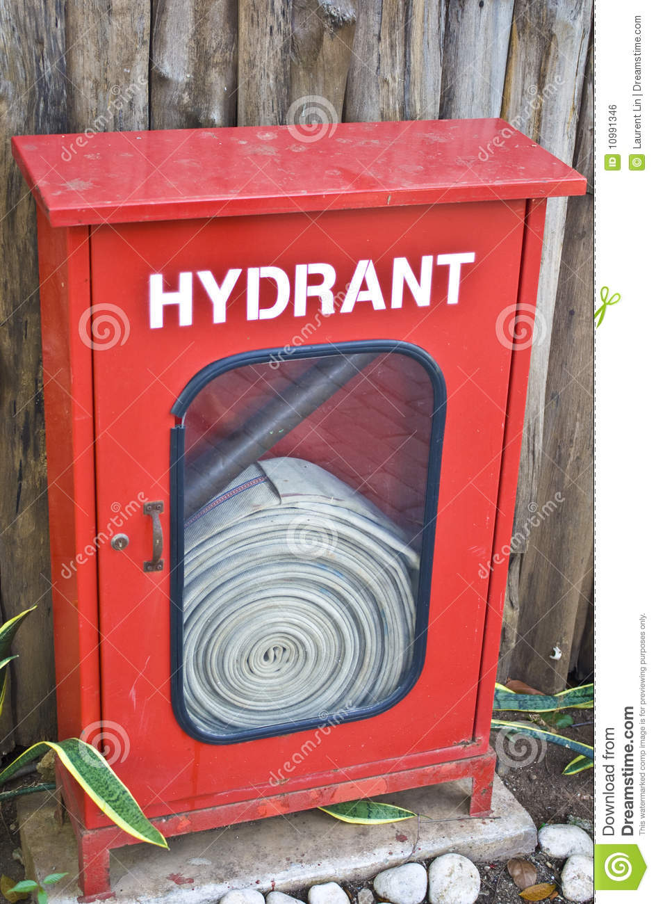 Fire Hydrant Box Royalty Free Stock Image - Image: 10991346