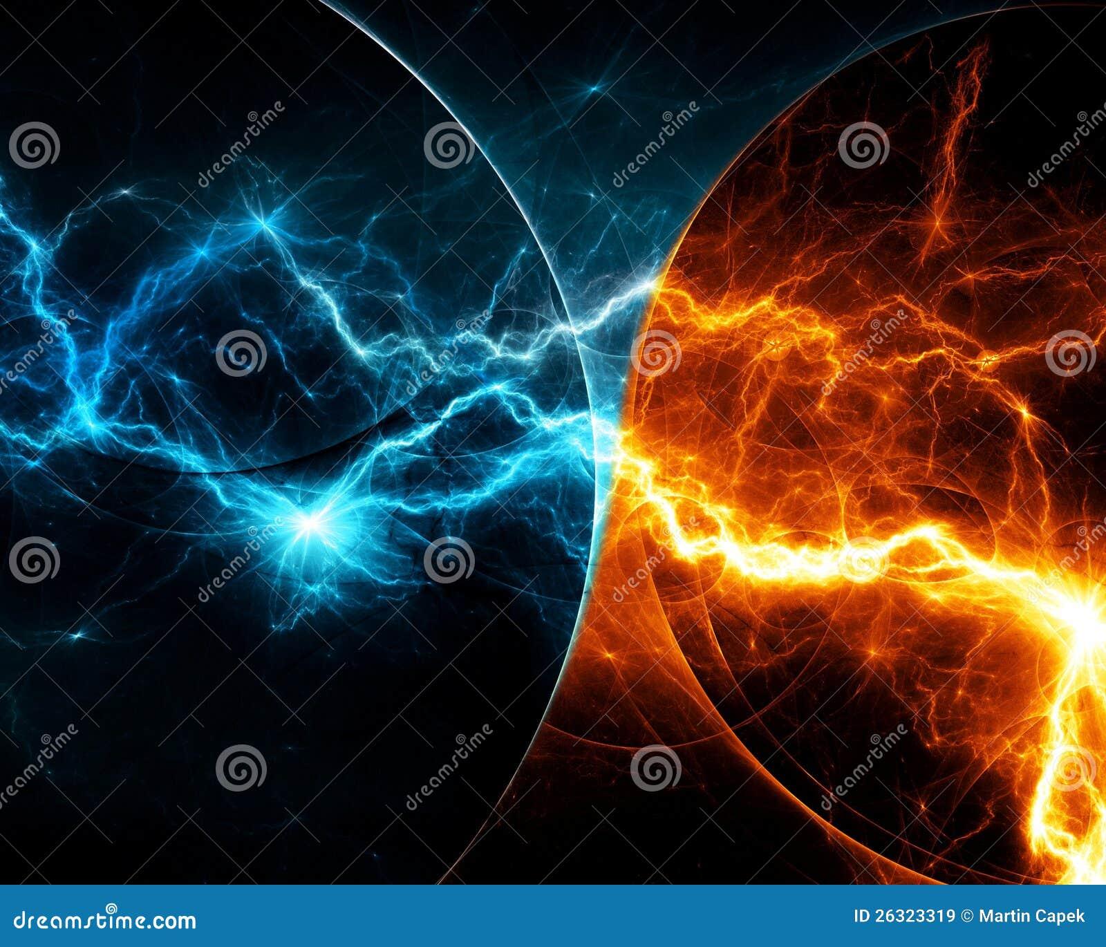 Fire And Lightning Wallpaper | www.pixshark.com - Images ...