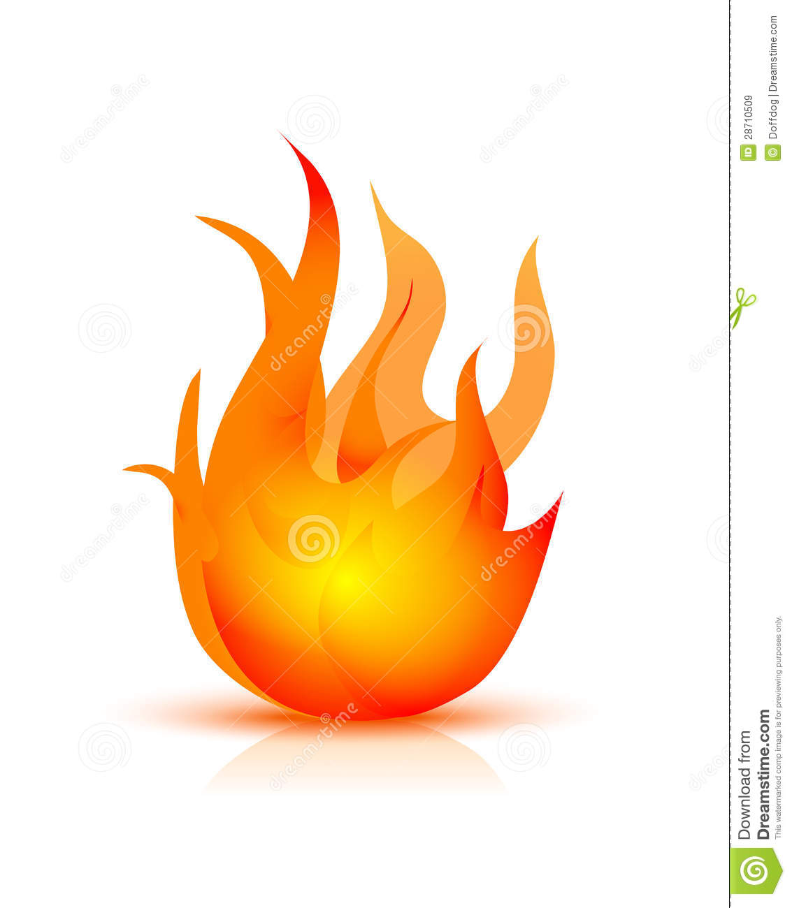 fire icon royalty free stock images image 28710509 Free Campfire Clip Art bonfire clipart free