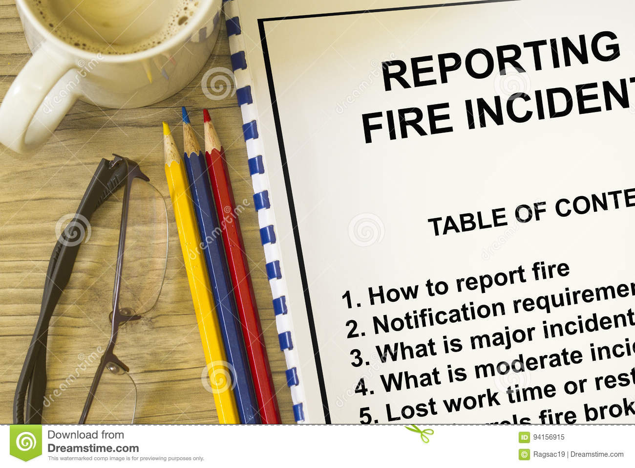 Fire incident reporting