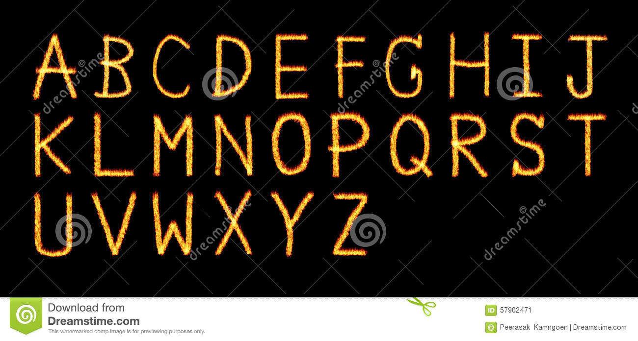 Fire letter letters and symbols in fire letter a z stock royalty free stock photo biocorpaavc