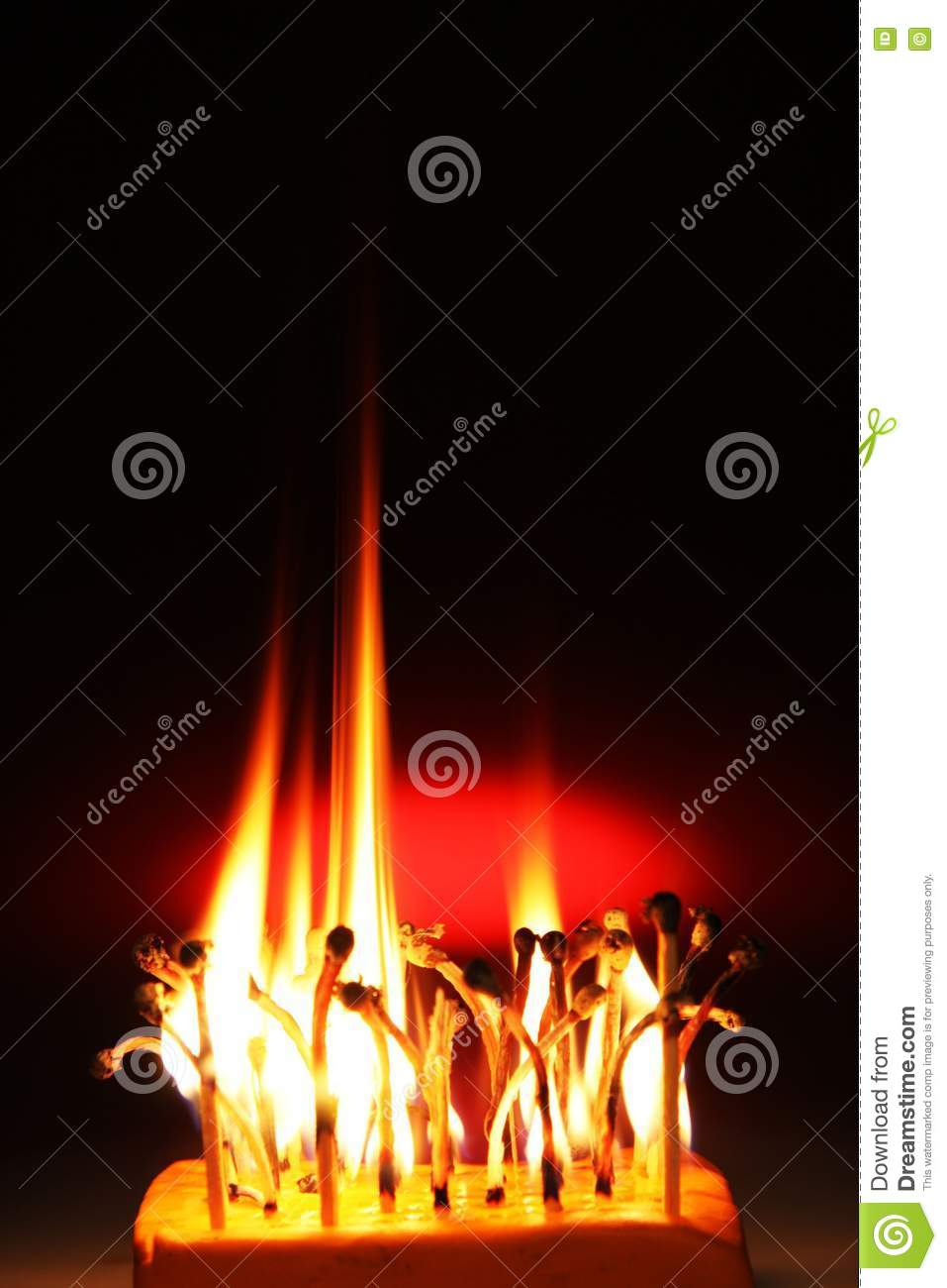 Fire matches