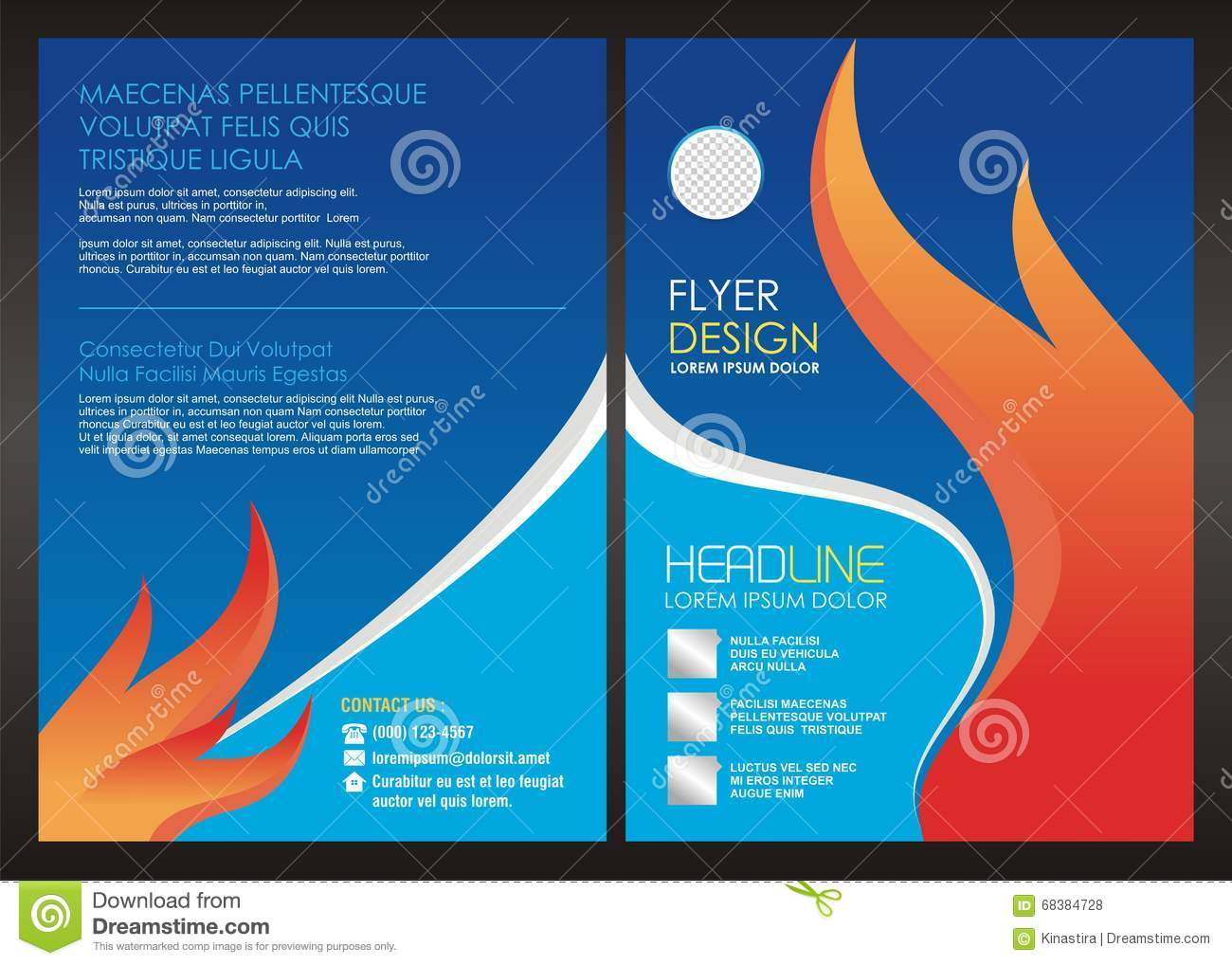 royalty free stock photos fire oil gas flyer cover template design image 68384728. Black Bedroom Furniture Sets. Home Design Ideas