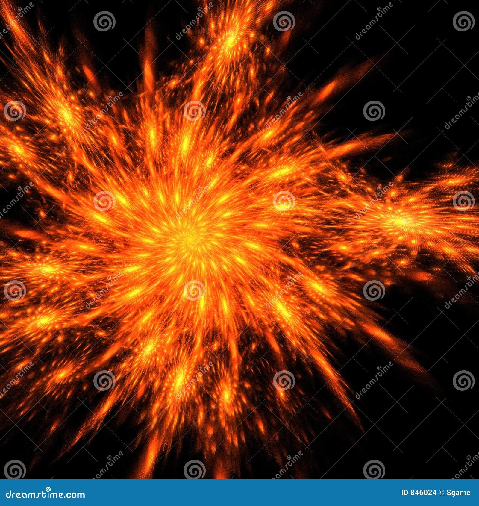 Fire phoenix feathers
