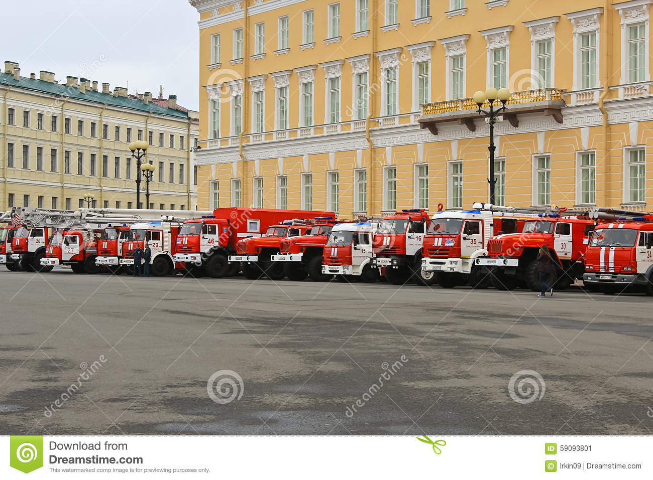 Fire & Rescue Saint-Petersburg, Russia Editorial Photo - Image of