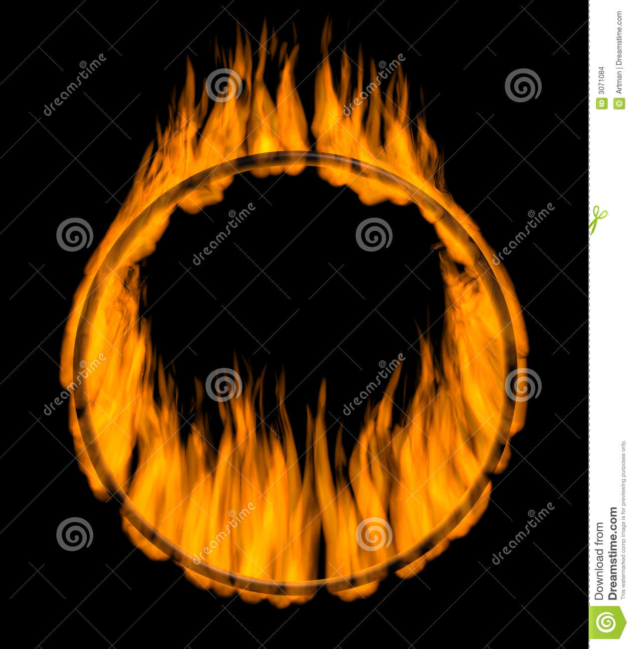 ring rings midway iron firering fire