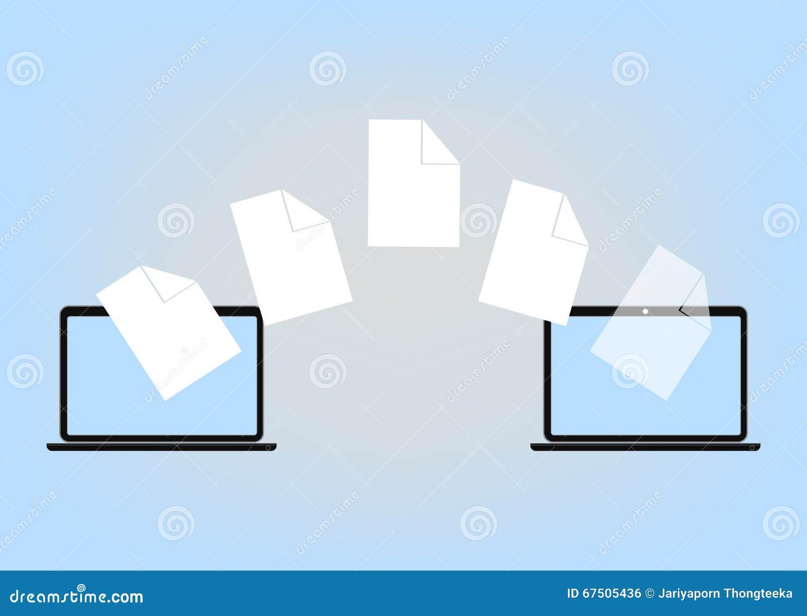 File Sharing Between Laptop Via Cloud Computing Technology