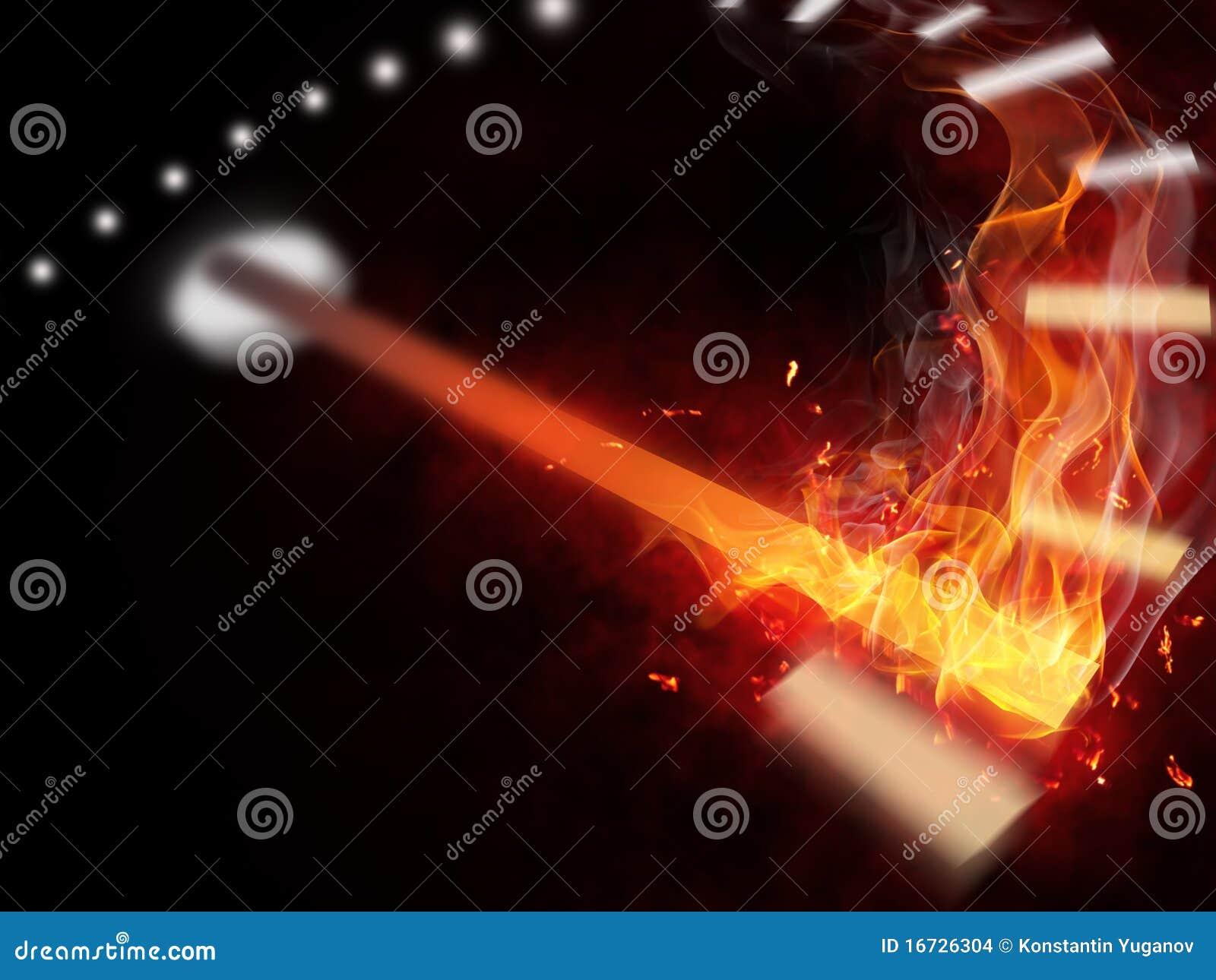 Fire speedometer