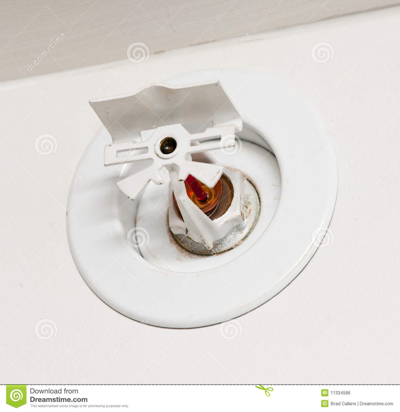 Fire Sprinkler Royalty Free Stock Image - Image: 11334586