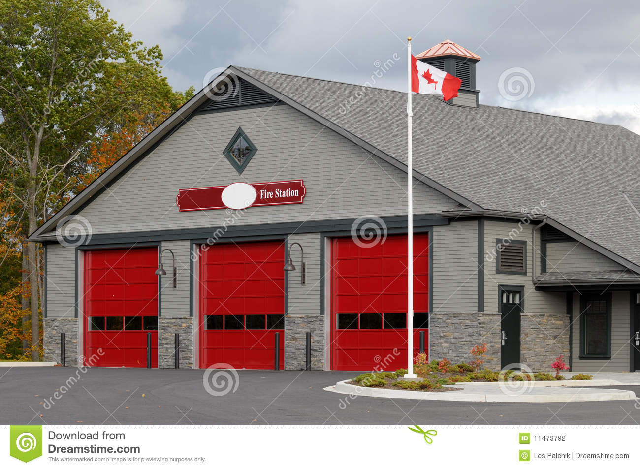 Fire Station Stock Photography - Image: 11473792