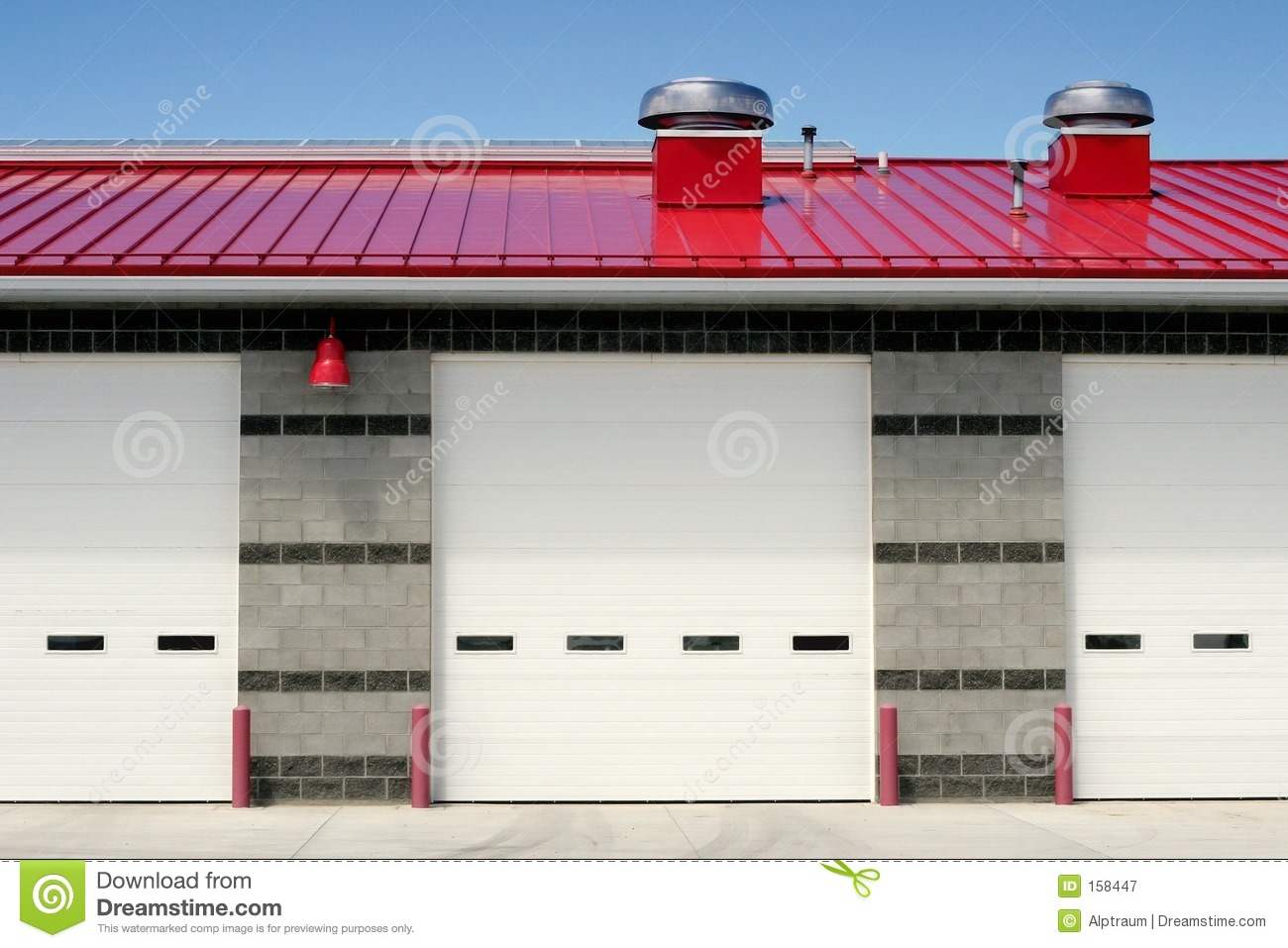 Fire station frontal