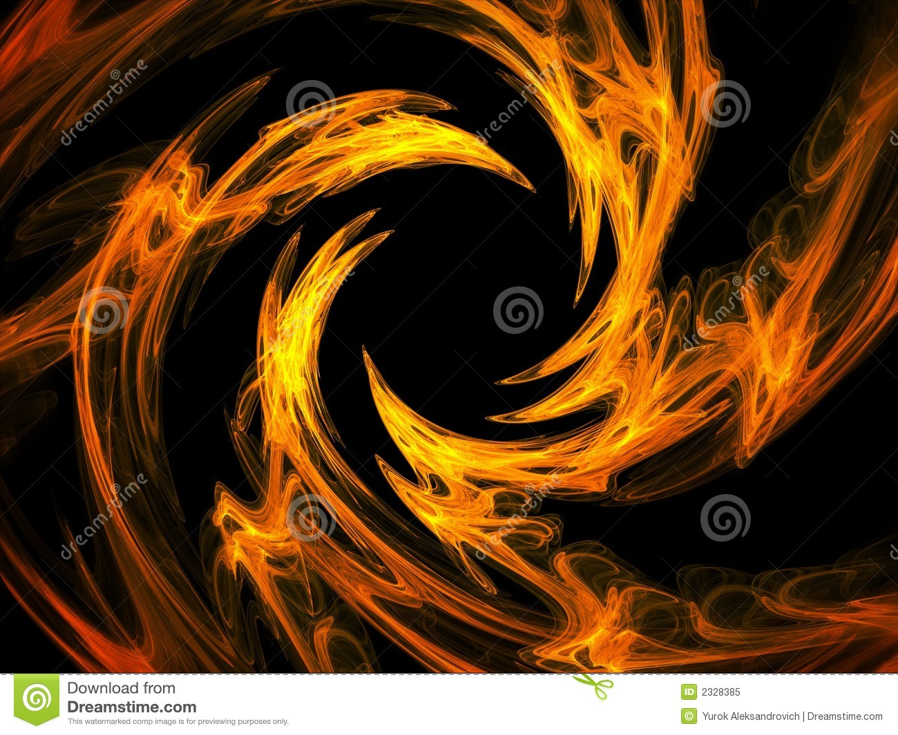 fire swirl royalty free stock photo image 2328385. Black Bedroom Furniture Sets. Home Design Ideas