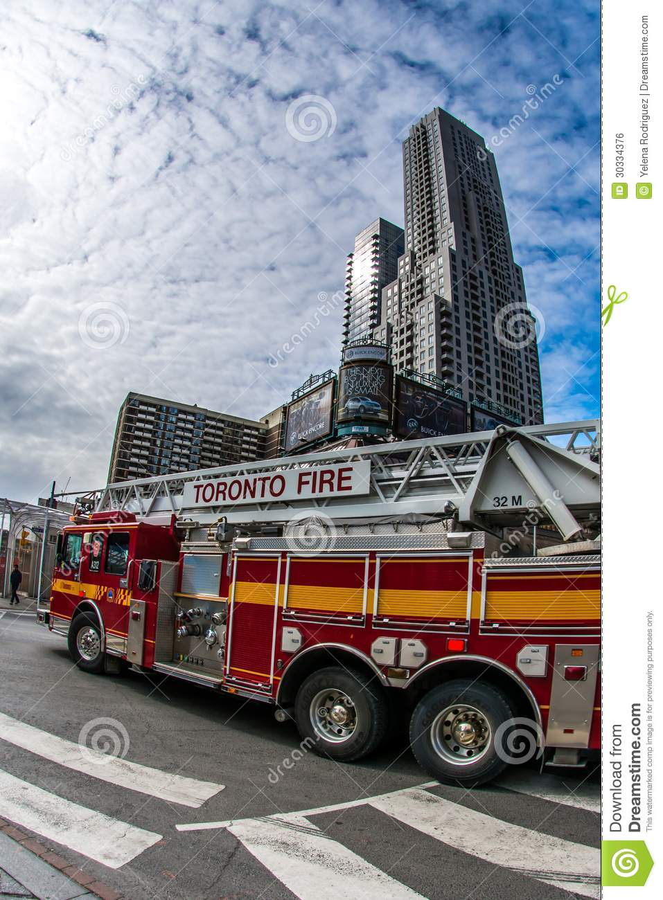 Fire Truck in Action editorial photo  Image of gear
