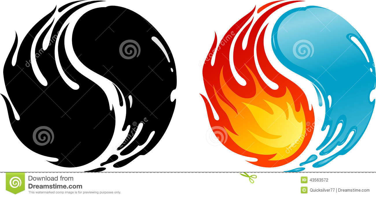 Fire and water stock illustration illustration of fire 43563572 fire and water biocorpaavc Choice Image