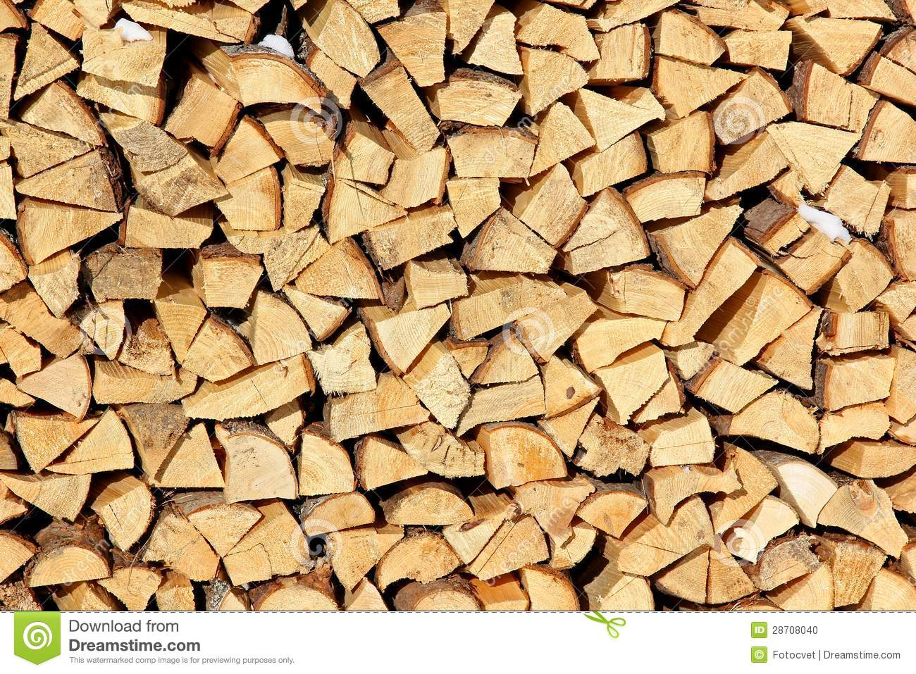 Photo about Stock of firewood for a fireplace in the is put on a backyard. Image of many