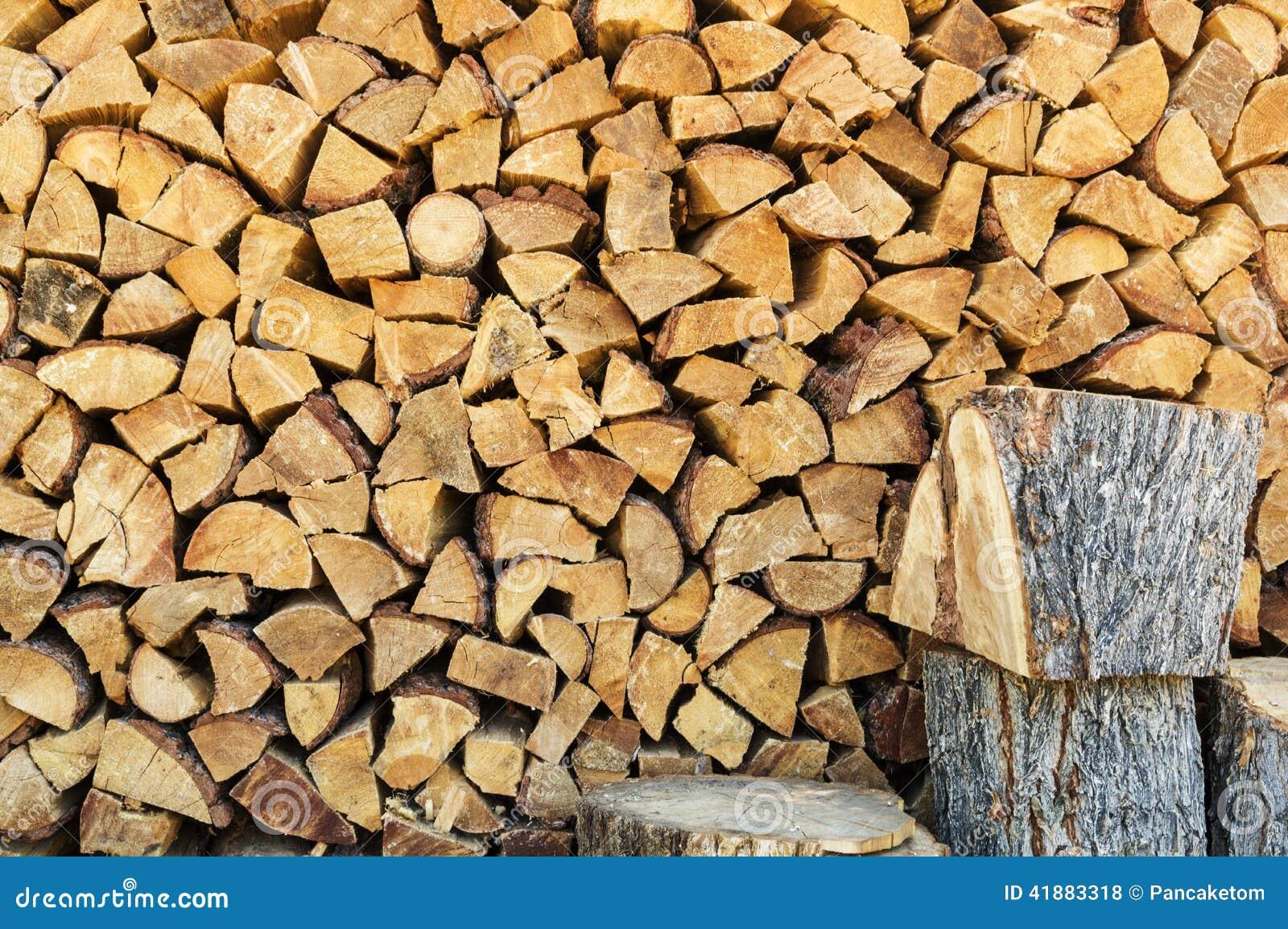 Fire Wood Pile Stock Photo Image 41883318