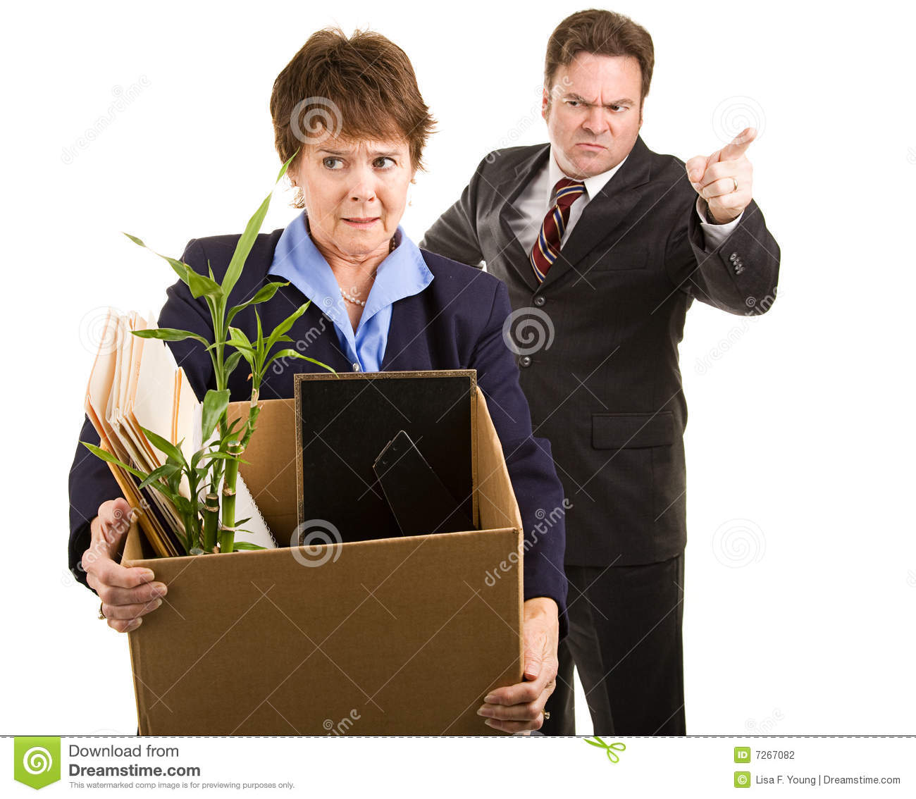 Fired From Job Stock Photography - Image: 7267082