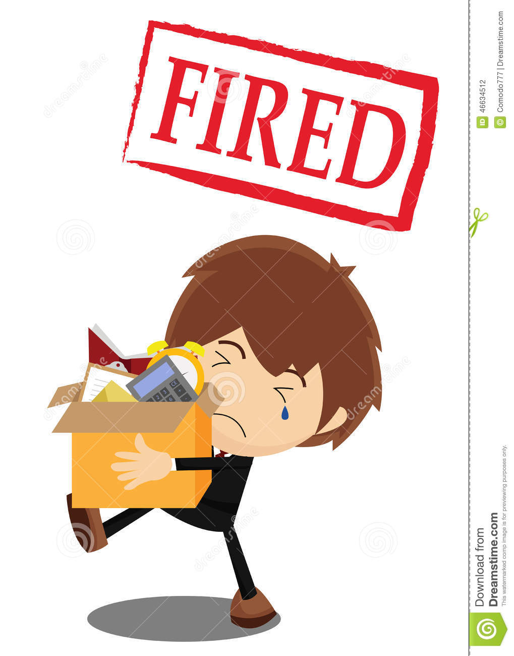 fired from job image information fired from job