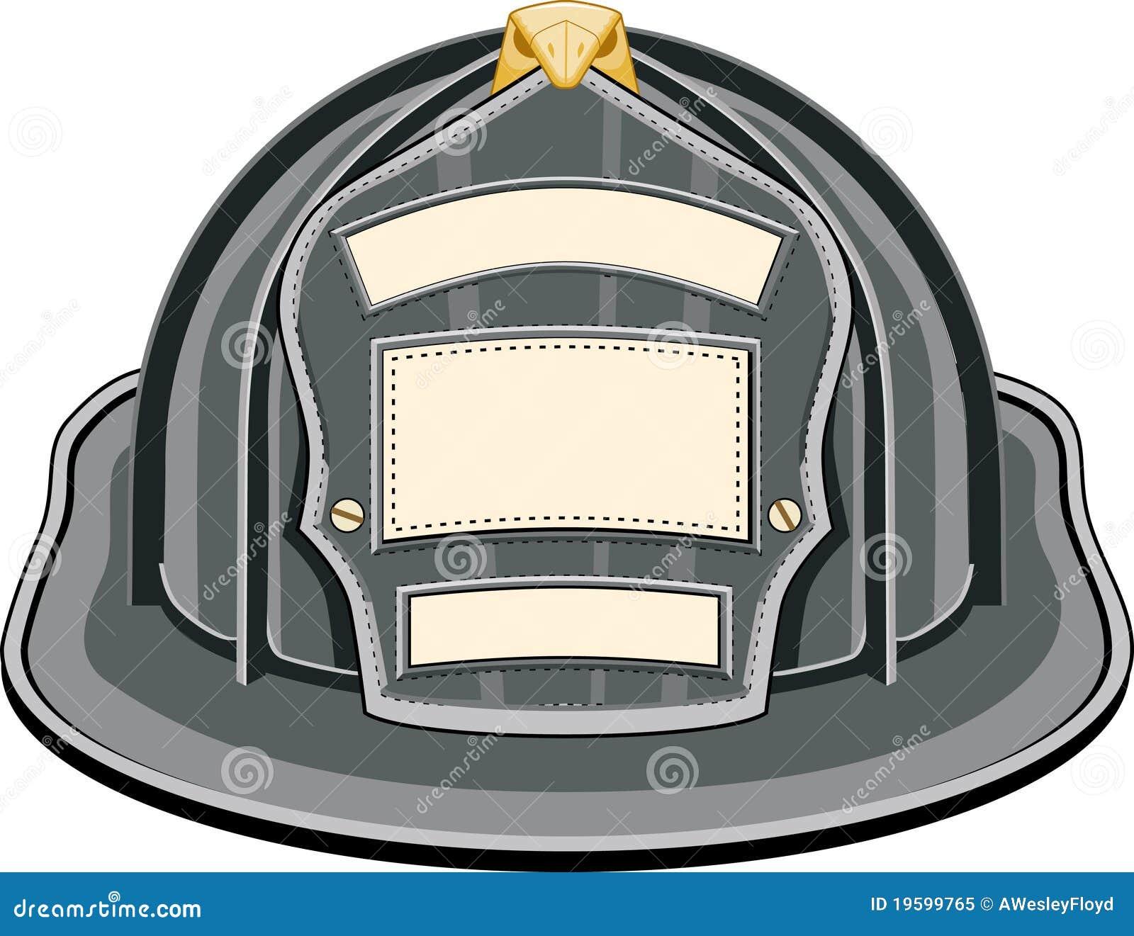 firefighter helmet black stock illustration illustration Firefighter Clip Art Black Fireman Movers Clip Art Black