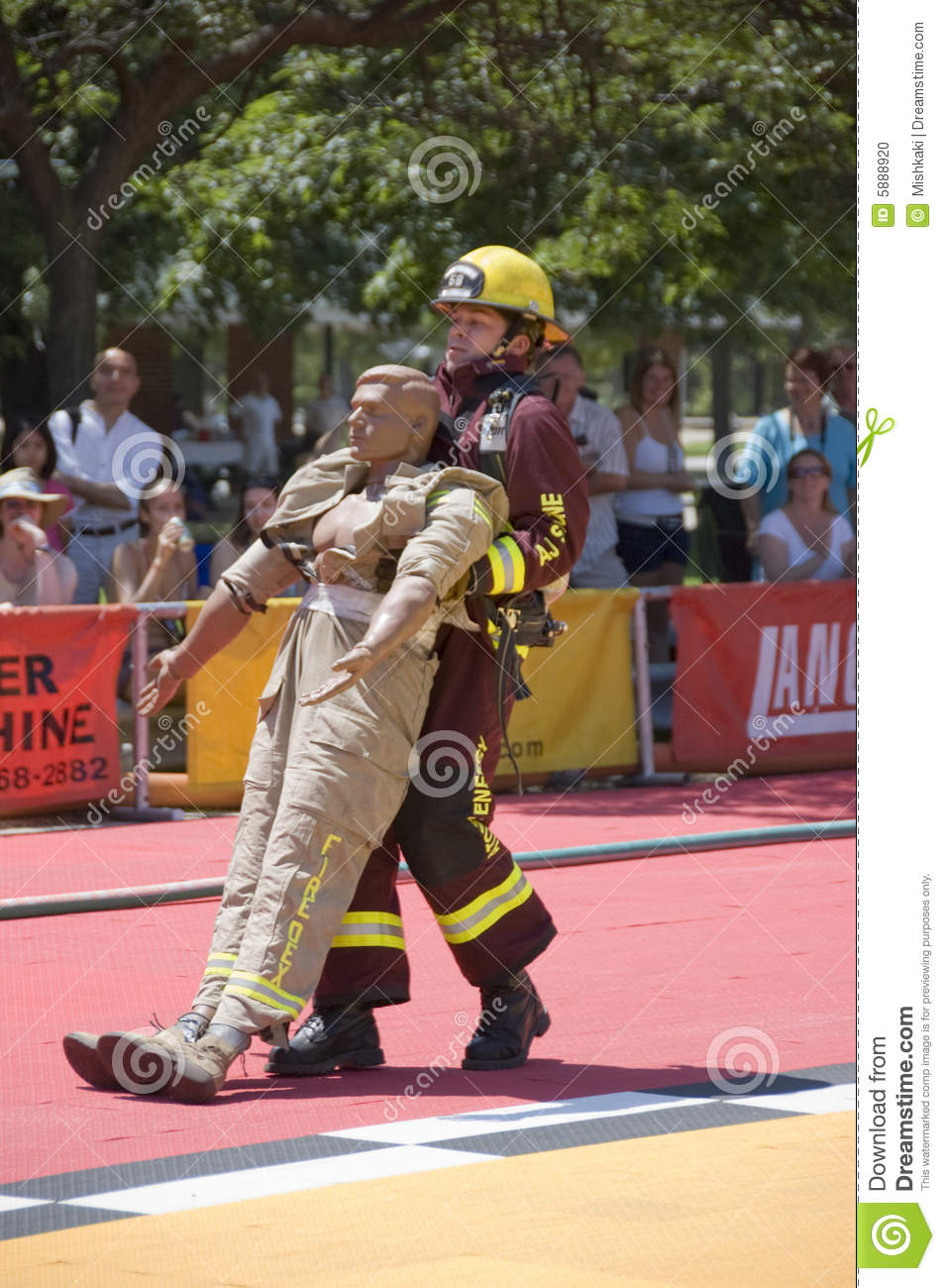 Firefighters In Action Editorial Image Image Of People
