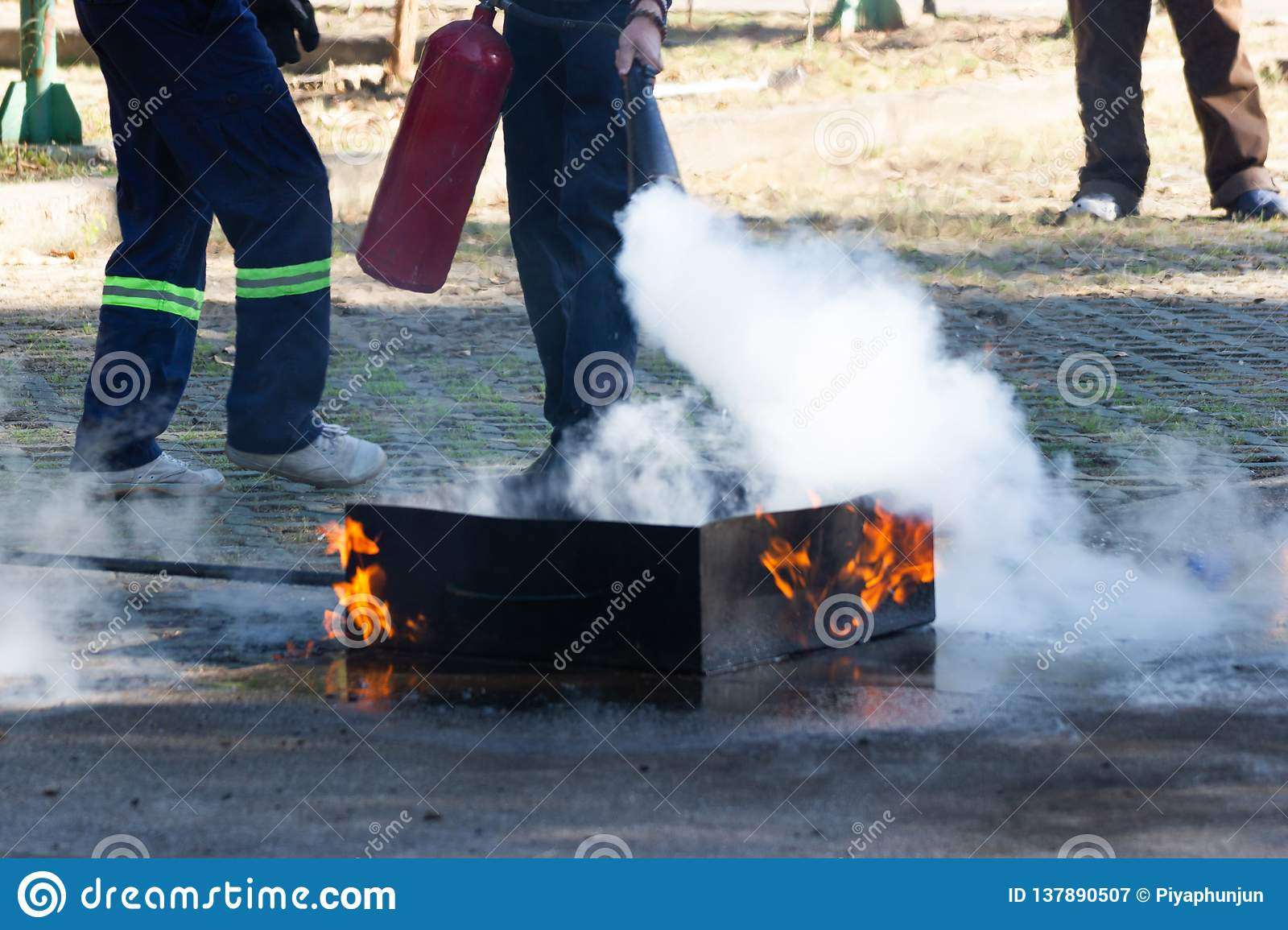 Pridham's Park RV Camping Loretto Ontario | GALLERY  |Fire Figher Demonstration