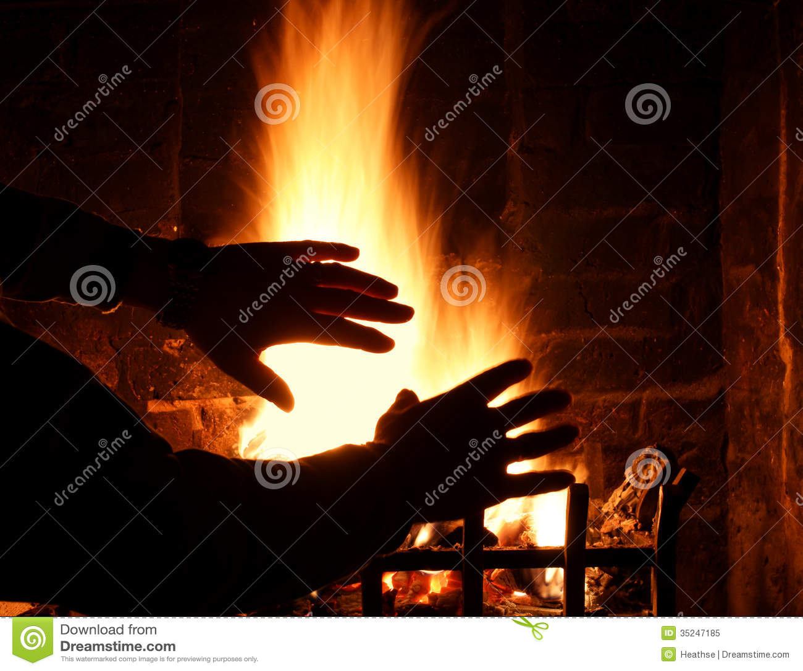 Firelight Royalty Free Stock Photo   Image  35247185