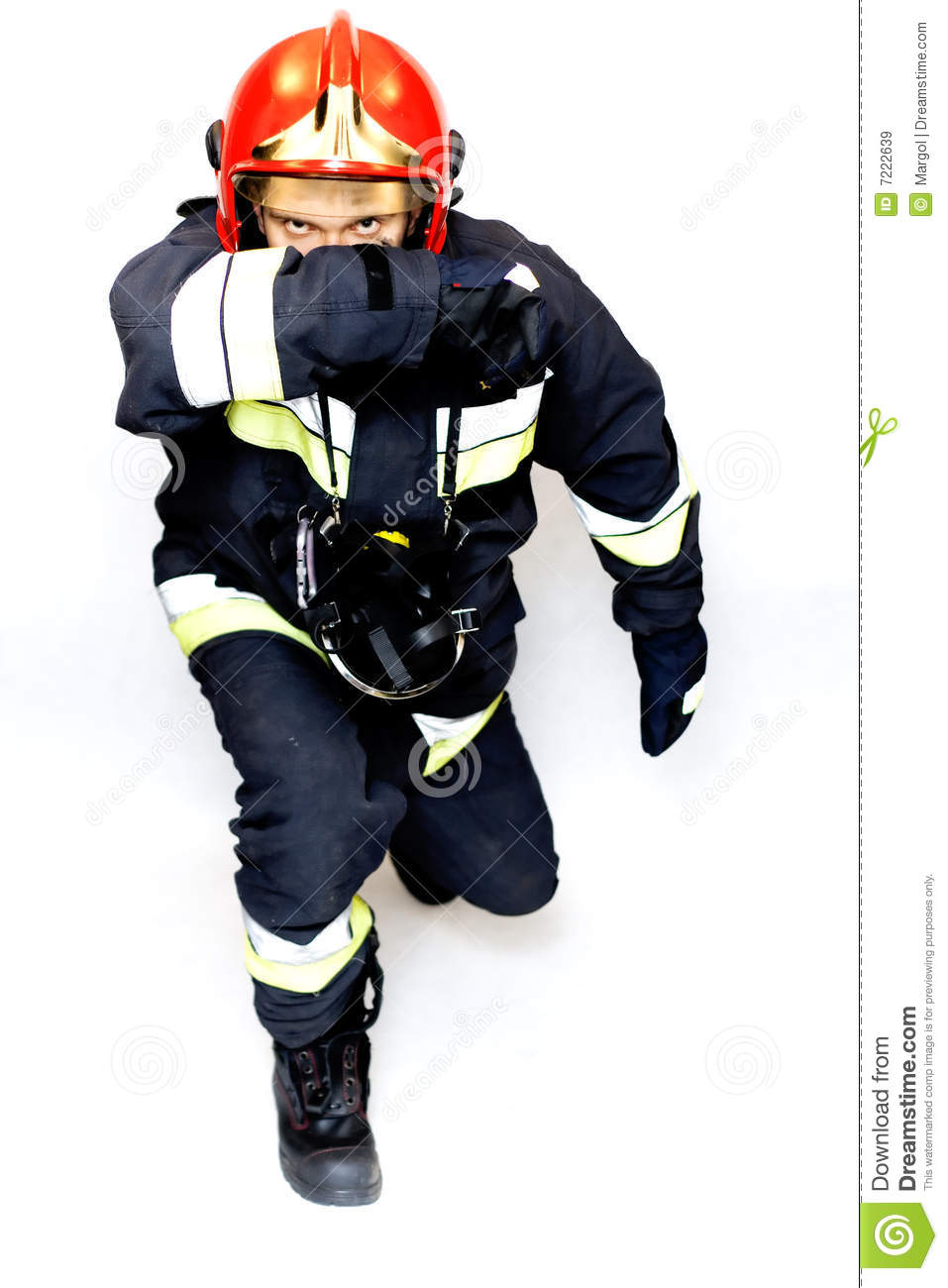 Pictures of fireman in action