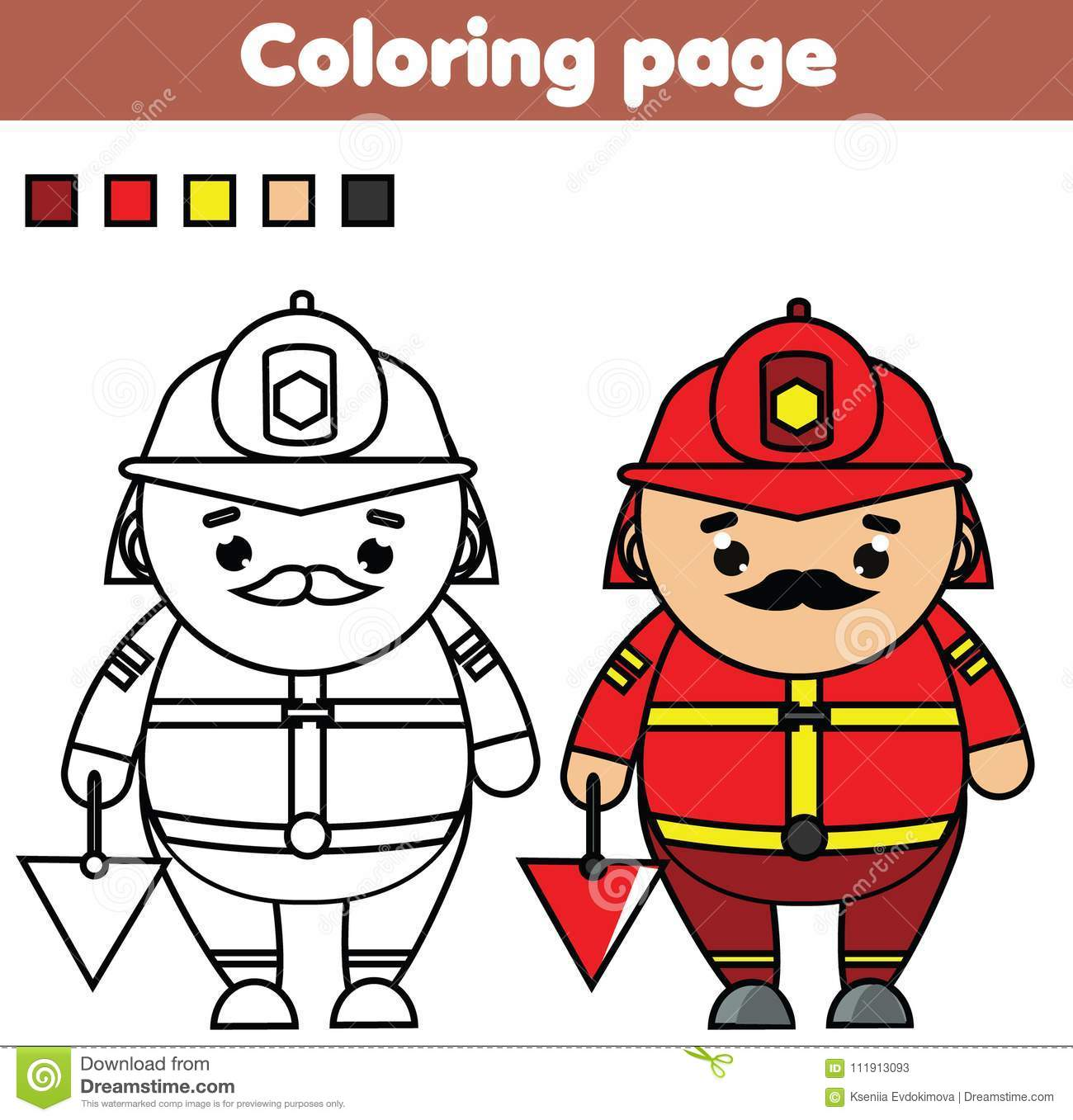 Fireman coloring page | Free Printable Coloring Pages | 1357x1300